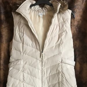 Coldwater Creek puffer vest tunic